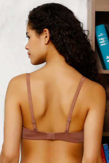 8d0b7f8885 Buy Zivame Super Soft Padded Clean Finish Multiway Bra- Brown at Rs ...