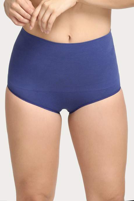 e4a4e5a947 Buy Zivame Smoothening Control Midwaist Brief - Blue at Rs.359 ...